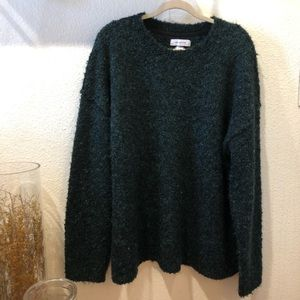 UO • Teal boucle style sweater